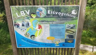 Abenteuer im Bach. Der Eisvogelsteig des LBV Arnschwang